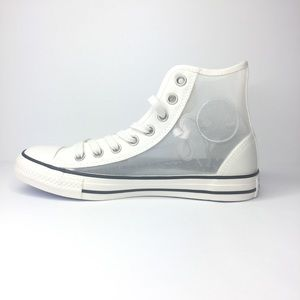 Converse Chuck Taylor All Star See Thru size 8.5
